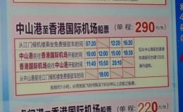 江门到香港HKTDC湾仔及机场 ,坐车坐船一些方法